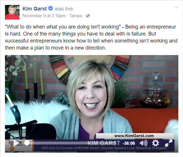 what isn't working in your business