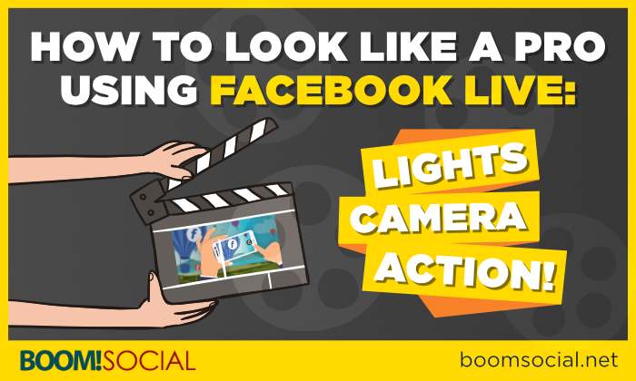 How to Look Like a Pro Using Facebook Live Blog